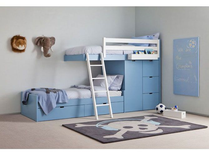 lits superpos s d cal s appartement montagne pinterest kids s and room. Black Bedroom Furniture Sets. Home Design Ideas