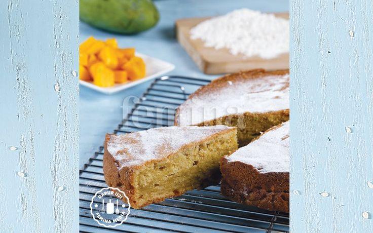 Resep Mango Pound Cake