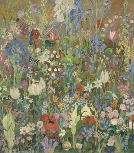 Summer Flowers by Sir Cedric Morris (Image Source: Christies). A wider approach to garden design
