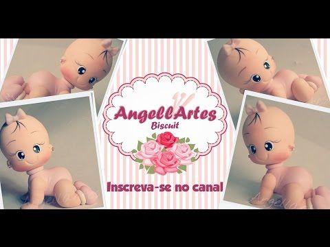 Bebê Engatinhando Biscuit - Angellartes - YouTube