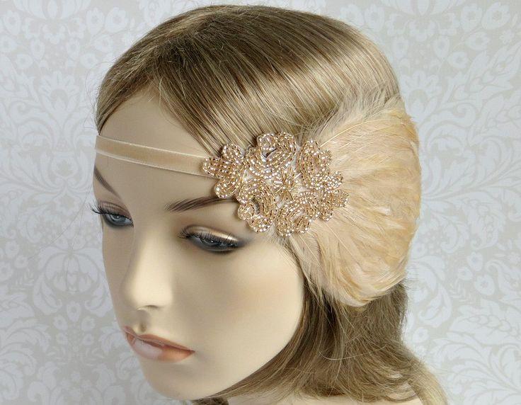 Bridal Hair Accessories Boho : Best 25 1920s hair accessories ideas on pinterest hair pieces