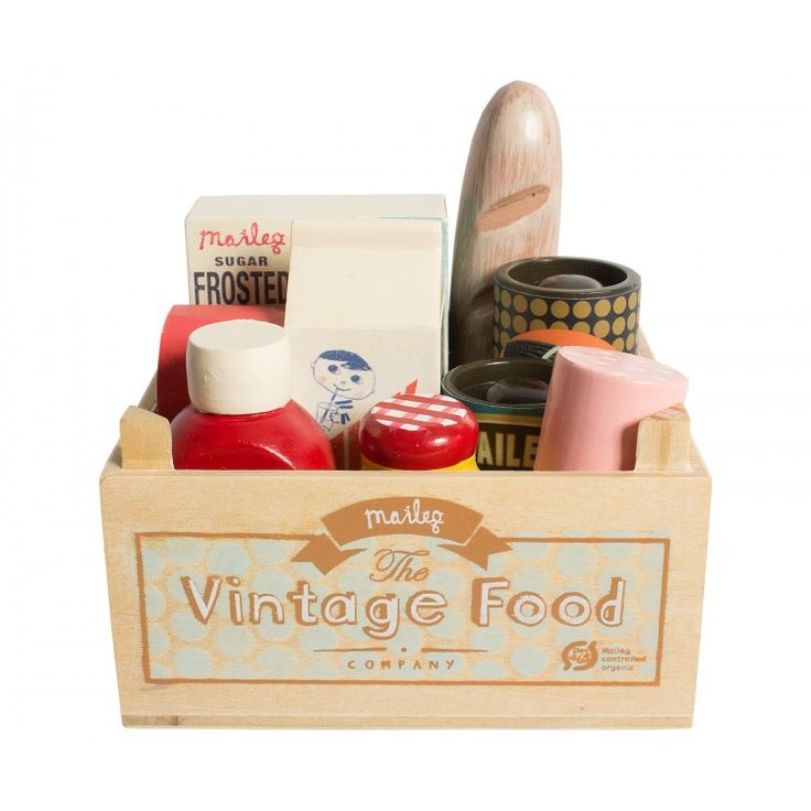 Maileg Vintage Food Grocery Box