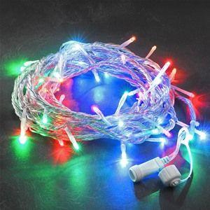 Konstsmide 4610-503 Coloured Connectable Christmas Lights - 100 LEDs
