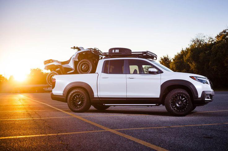 Could this be the fastest Honda 4x4 ATV? 2017 Foreman Rubicon 500 ATV + NITROUS KIT & Ridgeline Truck Build   SEMA 2016   Honda-Pro Kevin