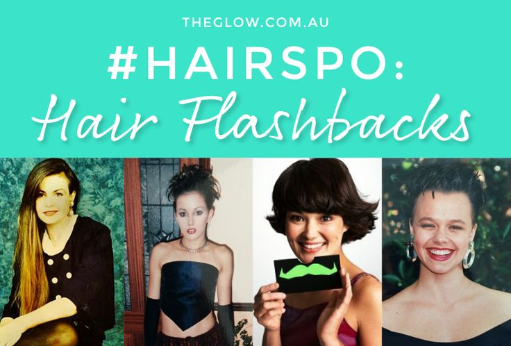 #Hairspo: the horrendous and the hilarous, we share some truly brilliant hair flashbacks of celebrities and The Glow team.