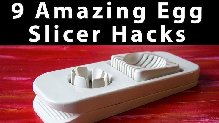 9 Amazing Egg Slicer Hacks | What Else Can You Cut with an Egg Slicer?