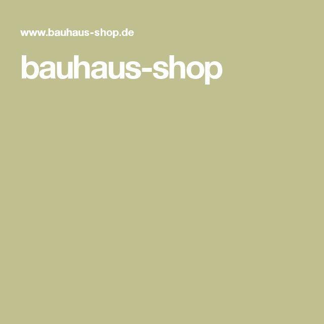Les 25 meilleures id es de la cat gorie bauhaus shop sur for Bauhaus design shop