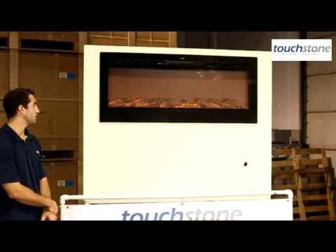 How to Install a Touchstone Sideline Recessed Electric Fireplace - YouTube