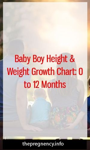 Baby boy height and weight growth chart: 0 to 12 months   – Pregnancy Tips