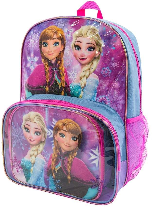 dfd5391993a Disney s  Frozen Anna   Elsa  Backpack   Lunch Tote Set  affiliate ...