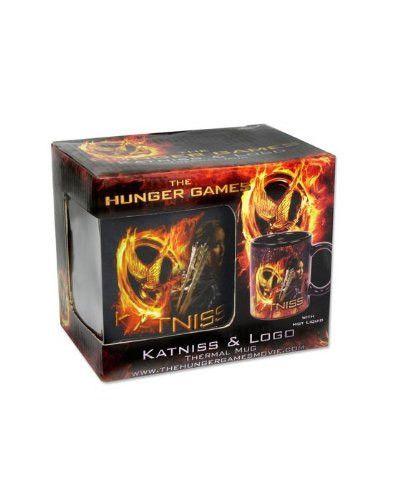 Die Tribute von Panem Tasse mit Thermoeffekt Katniss Die Tribute von Panem Tassen - Hadesflamme - Merchandise - Onlineshop für alles was das (Fan) Herz begehrt!