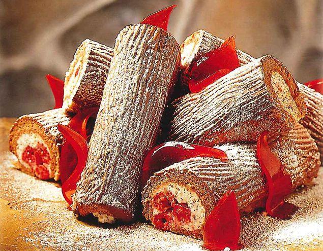 Petites buches de Noël recette   Dr.Oetker