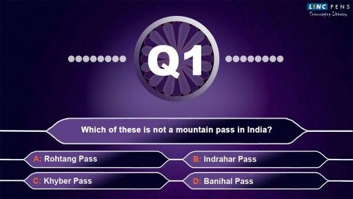 For all #KBC fans, here's a challenge! You think you know more than participants? Then answer this question!