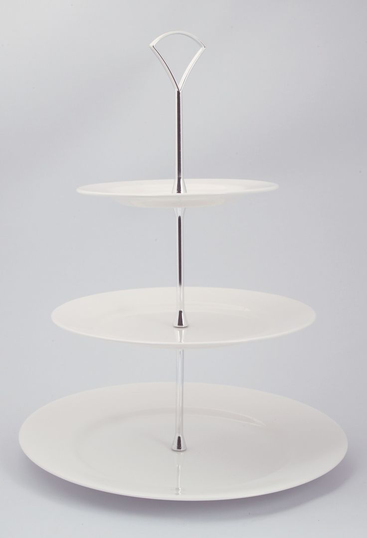 Plain 3 Tier Cake Stand With Fitting  sc 1 st  Pinterest & 14 best Cake Stands images on Pinterest | Tiered cake stands Tiered ...