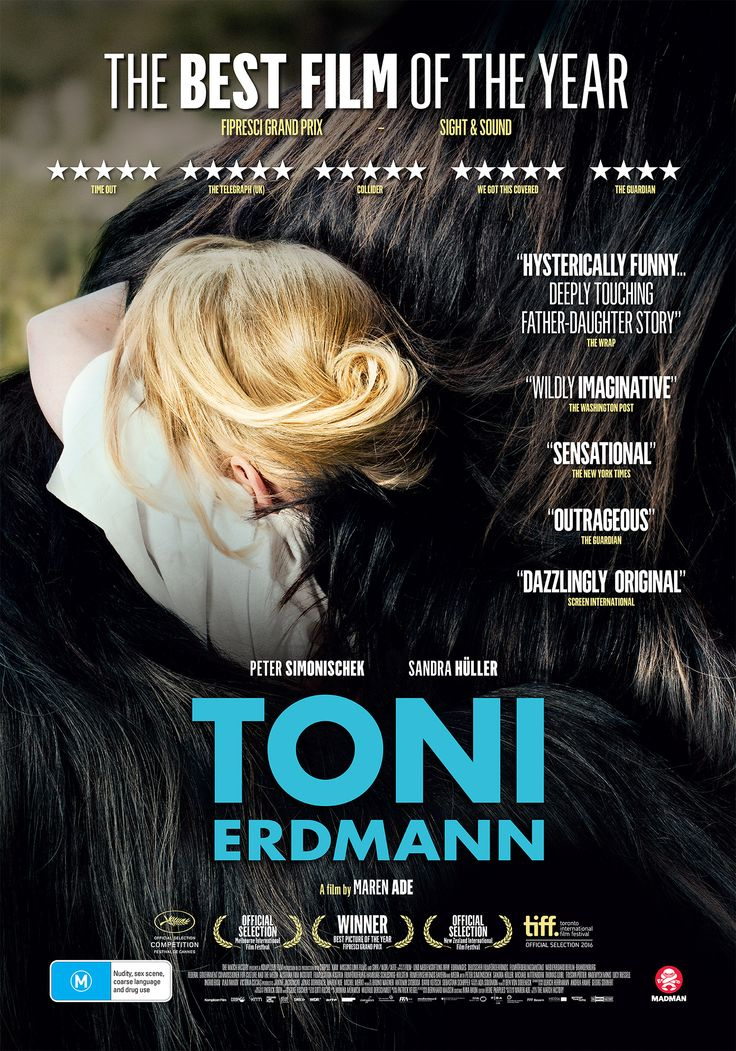 """There simply are no other movies out there even remotely like TONI ERDMANN."" Kernel Jack​ gives #ToniErdmann his stamp of approval, out Feb 9th in Australia from Madman Films​. http://saltypopcorn.com.au/toni-erdmann/"