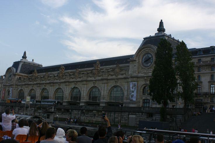 musée d'Orsay z projíďky po Seině