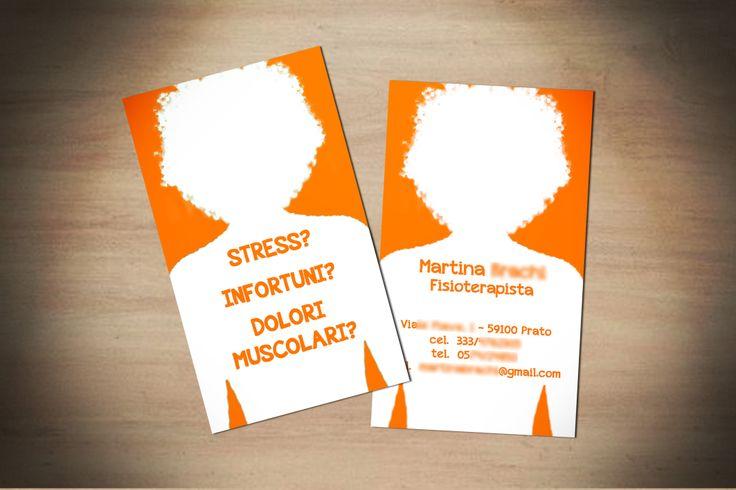 #physioterapist #businnescard #funny #fisioterapista #biglietto da visita #cemideas