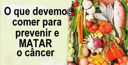 Não é segredo para ninguém que o que comemos reflete na saúde do nosso corpo.Por isso, para evitar toxinas e se prevenir contra o câncer, é muito importante uma dieta saudável.