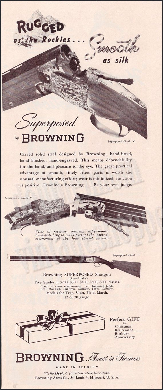 Vintage gun ads Northwest Firearms -