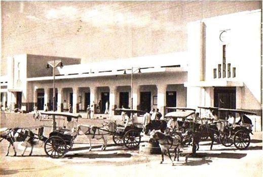 Stasiun Gambir 1940
