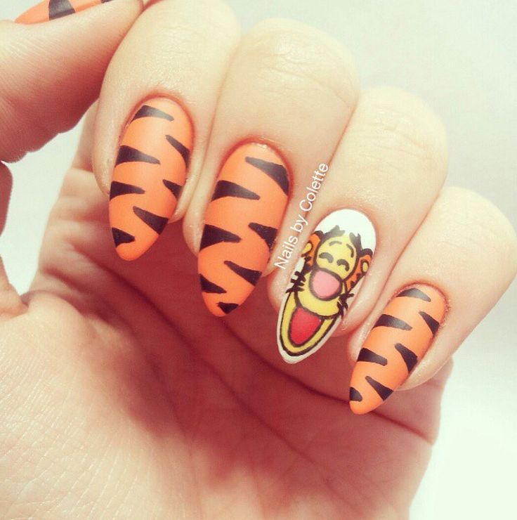Tigger Nails: Polishaholic.