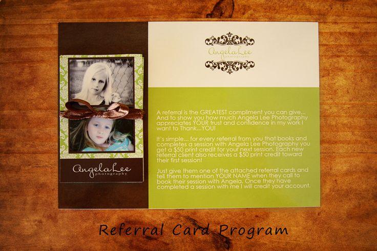 Referral Card Program