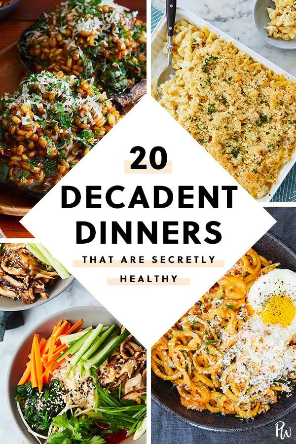 20 Decadent Dinners That Are Secretly Healthy