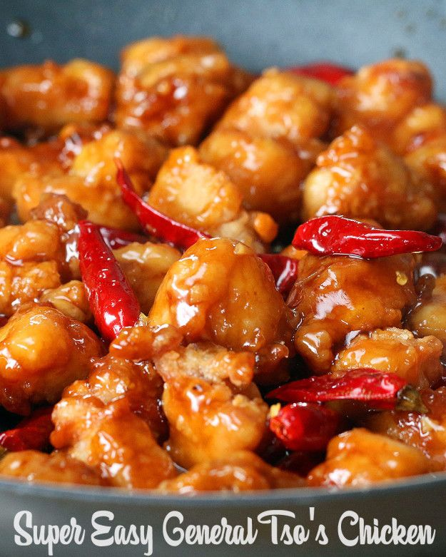 Easy General Tso's Chicken
