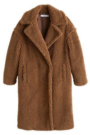 Teddy Jas Kopen.Mango Teddy Coat Teddy Coats Kopen Teddy Jassen Winter 2018 Teddy