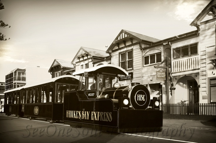 Hawke's Bay Express, New Zealand by SeeOneSoul Photography ... Recently I had the absolute pleasure of going on tour around Napier aboard the Hawke's Bay Express! What an experience!! And Will, the owner and also driver / guide, was sweet enough to indulge my wish to take photos of this awesome custom built road train!! How cool is that? So here some images to show off this gorgeous train ... If you're ever in Napier, seriously, hop on for a super fun and informative tour!