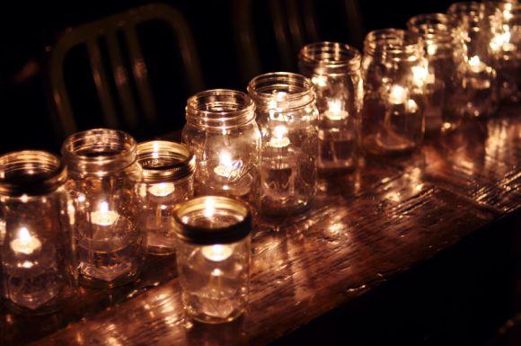 Country Wedding Decorations Using Mason Jars | Wedding Theme Wednesday – Country Chic | Bride Support Wedding ...