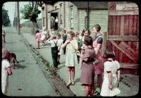 Charles W Cushman photo  Street scene. Victoria, B.C.