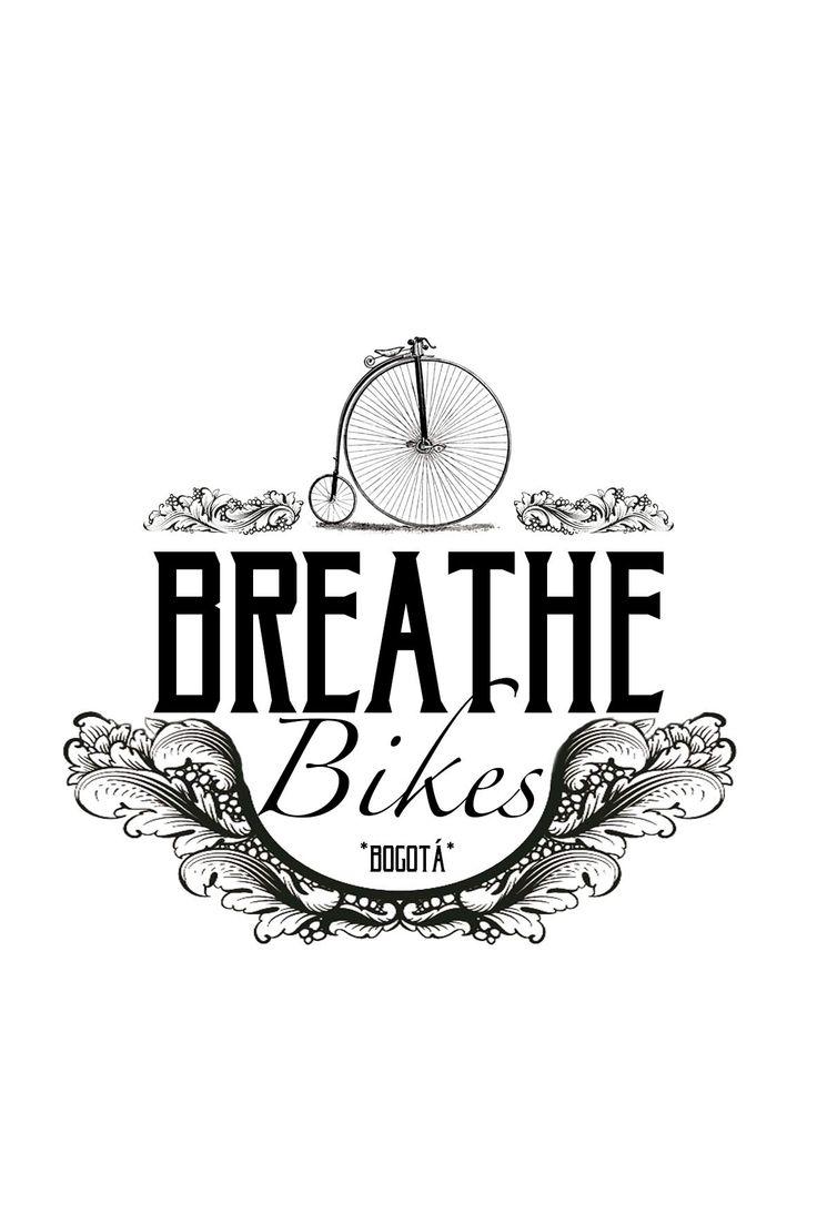 Logo diseñado para la tienda online de productos de ciclismo Breathe Bikes Bogotá. Un trabajo realizado por la agencia de publicidad Laboratorio Gráfico Bogotá.
