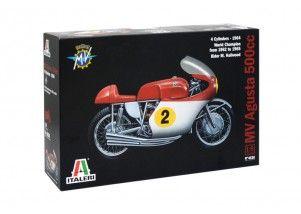 MV AGUSTA 500 cc. 4 CYLINDERS - 1964   scala 1:9    Italeri art.4630