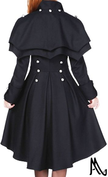 Victorian Coat by Amber Middaugh---Standard Size Retail $105.95 ---Plus Size Retail $119.95