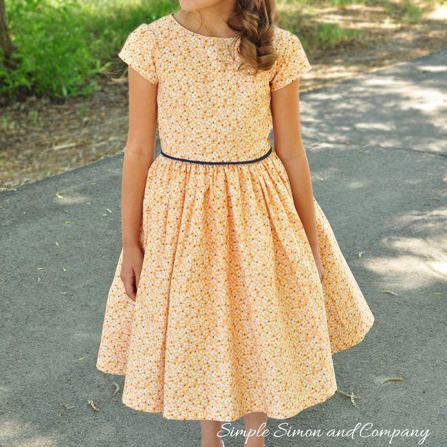 Simple Simon & Company: A Summer Dress