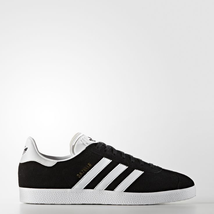 Black adidas · Ultimate simplicity for three decades and counting. This  version of the Gazelle honours the favourite
