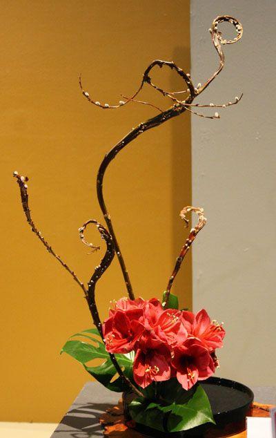 Philadelphia Flower Show Ikebana