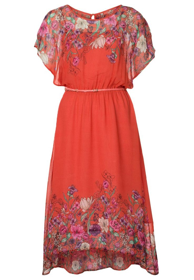 Pepe Jeans CAMILLE Summer dress red