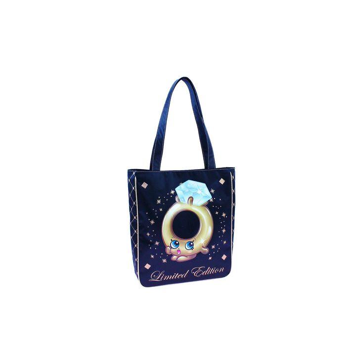 Girls' Shopkins Limited Edition Roxy Ring Tote Bag - Black