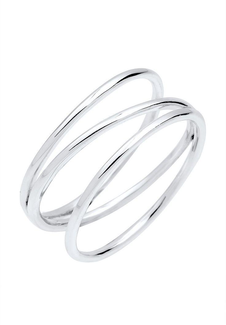 """Mit seiner dezenten Eleganz wird dieser Ring aus feinstem 925er Sterling Silber zu einem absoluten Liebling in deiner Schmucksammlung. Das schlichte und trendige Design macht dieses Accessoire zum Highlight jedes Outfits.  Weitere Hilfe zur Ringgröße:  Angegebene Größe in mm entspricht """"Ring Innen-Umfang"""", Umrechnung in """"Ring Durchmesser Ø"""" wie folgt:  52mm Umfang = 16,5mm Ø 54mm Umfang = 17,2m..."""