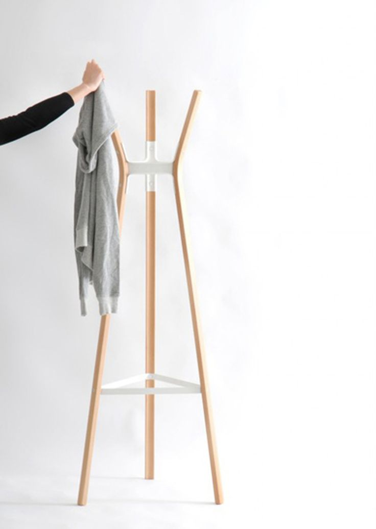 STEELWOOD coat hanger by Ronan and Erwan Bouroullec arrived at oikos