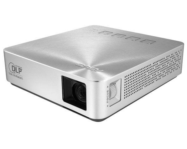 S1 - Mini Vidéoprojecteur DLP - WVGA - 200 lumens ANSI - Silver