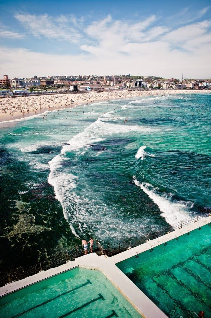 Bondi Beach saltwater pool, Think so
