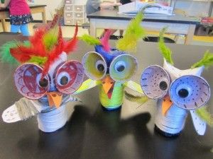 HA! love them, make them into birds for the show