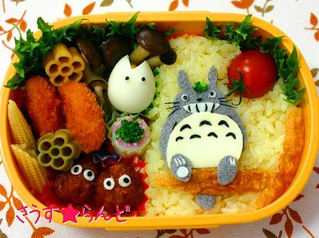 kyaraben(lunch box made by mommy with love)