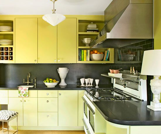 17 best images about kitchen on pinterest for Avocado kitchen cabinets