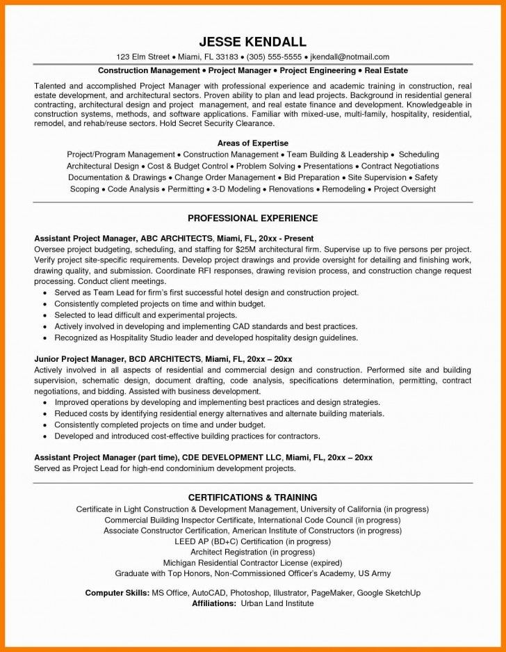 024 Project Manager Resume Template Microsoft Word Ideas In 2020 Project Manager Resume Manager Resume Job Resume Examples