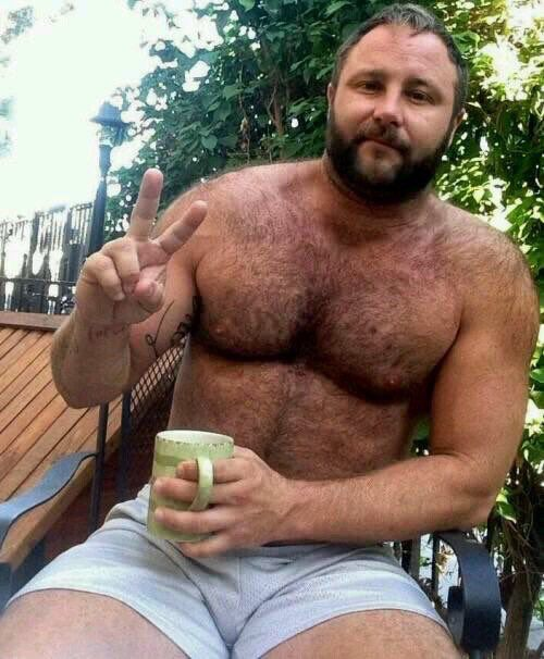Hairy bear for antonio
