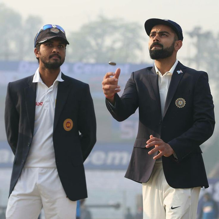 India win the toss and bat first in the 3rd #INDvSL Test in Delhi. Will the hosts dominate from the start? Follow the action live at icc-cricket.com! #cricket #india #srilanka #test #testcricket #delhi #toss #lovecricket